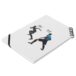 funnyTのescape! Notebookの平置き