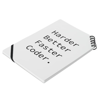 Harder Better Faster Coder. (Source Code Pro ver.) Notes
