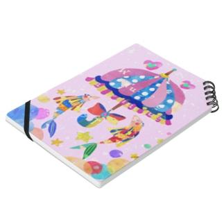 相合い傘のリングノート ノート