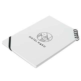 HOTEL Haku. Notebook Notes