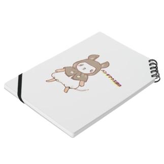 パンダマウス頭巾 ちゃん Notebook