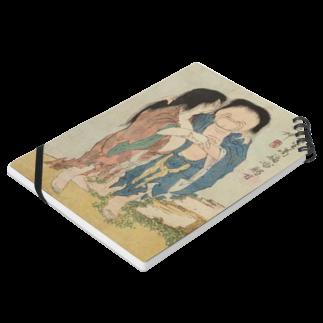 笠岡コンテンツカンパニーの葛飾北斎 春画 妖怪 Notesの平置き