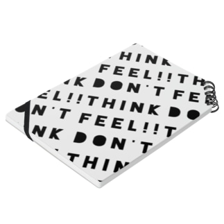 Don't think Feel -note book- Notes