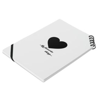 My favorite♡Black ノート