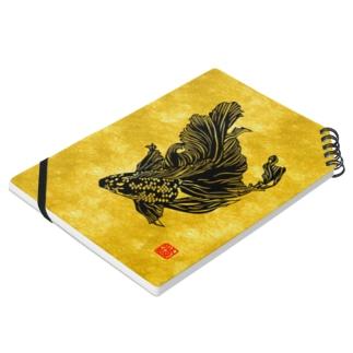 切り絵金魚--黒キャリコ-- Notes