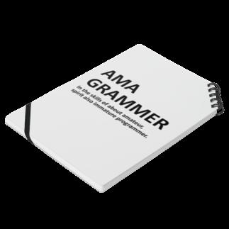アシベズヘアのAMAGRAMMER Notesの平置き