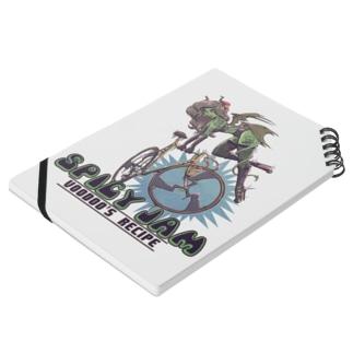 """SPICY JAM"" (green) Notebook"