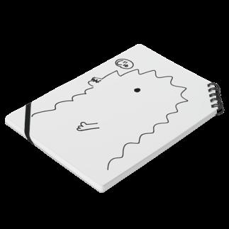 宮澤寿梨のじゅ印良品の『半じゅジラ』ノートノート