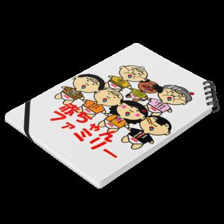 オリジナルデザインTシャツ SMOKIN'の赤ちゃんファミリー<吉田家シリーズ> Notesの平置き