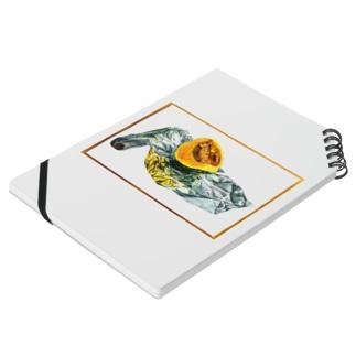 かぼちゃとアルミホイル(枠あり透過ver) Notebook