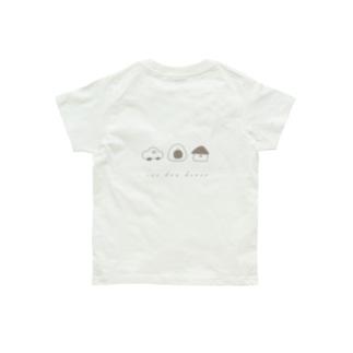 車とアヒルと家 Organic Cotton T-shirts