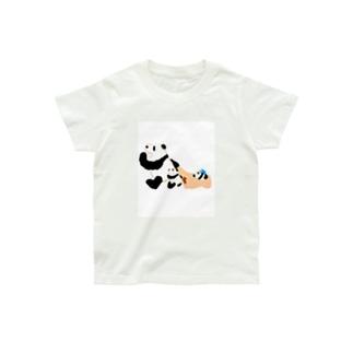 ねるぞー。パンダ Organic Cotton T-shirts