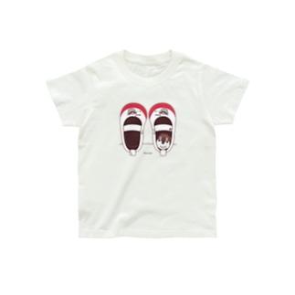 キッズサイズ*CT165 スズメがちゅん*うわばきA* Organic Cotton T-Shirt