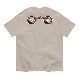 アプト式機関車動輪 Organic Cotton T-shirts