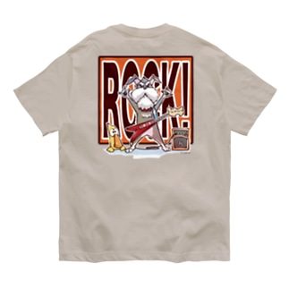 ROCK! ウシロ Organic Cotton T-shirts