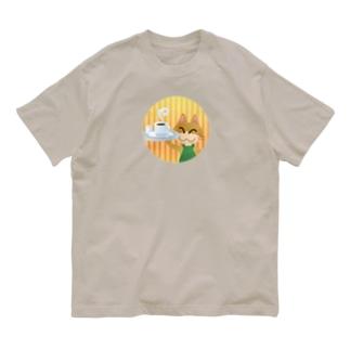 ねこオーナーのコーヒー Organic Cotton T-shirts