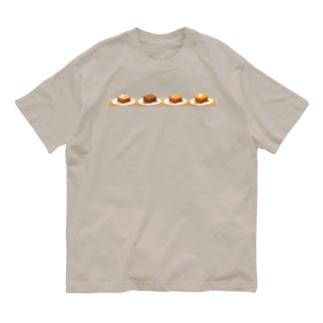 本日のハニートースト(ヨコ) Organic Cotton T-shirts