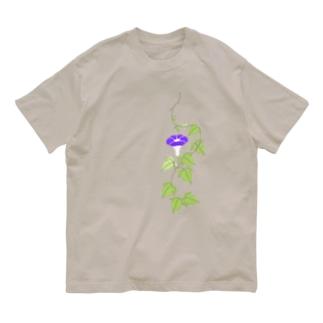 朝顔 Organic Cotton T-shirts