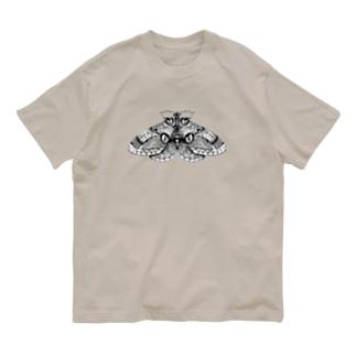 イボタガ Organic Cotton T-shirts