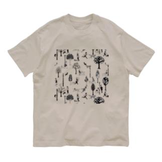 The Doggone Dog Is Mine パターン Organic Cotton T-shirts