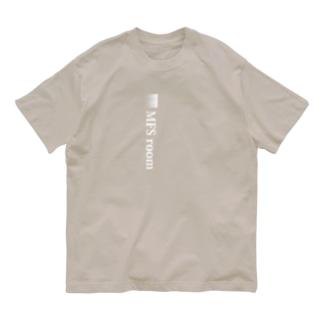 MFS room trim1(白) Organic Cotton T-shirts