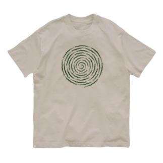 ぐるぐるヘビ Organic Cotton T-shirts