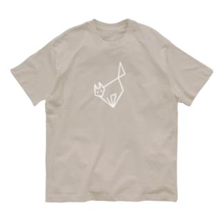 シャッとしてキャット Organic Cotton T-shirts