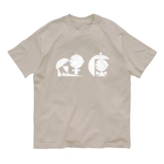 健康2 シロ Organic Cotton T-shirts