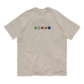 ダイスロール Organic Cotton T-Shirt
