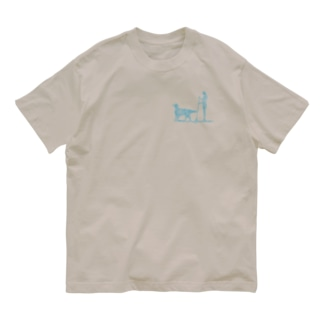 花月 SupDog フラットコーテッドレトリバー Organic Cotton T-shirts