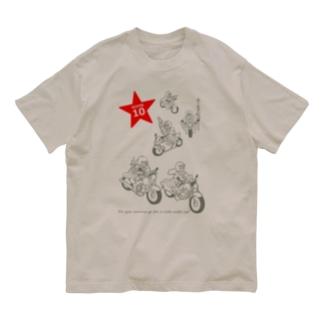 LaLaLa RIDE Organic Cotton T-shirts