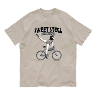 """SWEET STEEL Cycles"" #1 Organic Cotton T-Shirt"