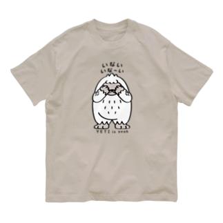 両面*CT121 YETIisyeah*いないいないばぁA Organic Cotton T-Shirt