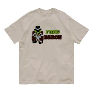 カエル男爵 Organic Cotton T-shirts