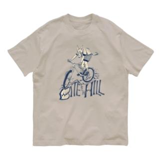 """BITE the HILL"" Organic Cotton T-Shirt"