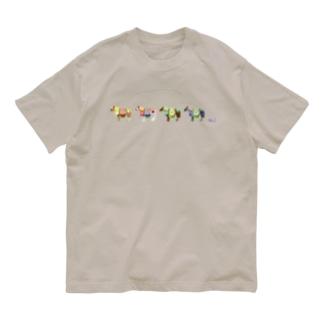 チャグチャグ馬コ Organic Cotton T-shirts