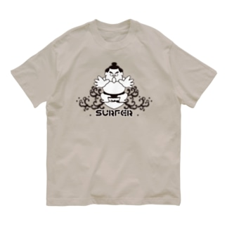KENICHIROUのわんぱくちゃんSURFER Organic Cotton T-Shirt