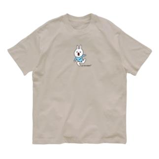 ぐにゃんとしたウー Organic Cotton T-shirts