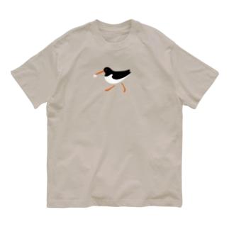 ミヤコドリとにんじん Organic Cotton T-shirts
