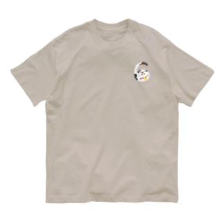 えんぎものすうじ 6 まねきねこ Organic Cotton T-shirts