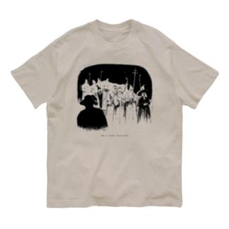 葬儀の列 Organic Cotton T-shirts