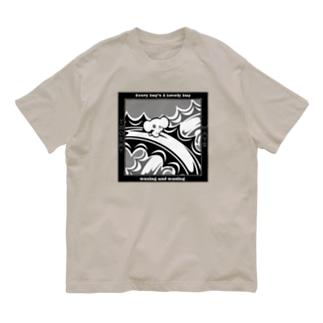 イバラの波 Organic Cotton T-shirts