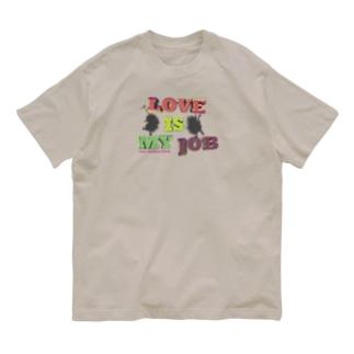 LOVE Tシャツ(淡色用)2021 WORLD TOUR〜 LOVE is my Job. Organic Cotton T-shirts