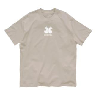 コギパロディ「シ●ネル」コギネル(白) Organic Cotton T-shirts