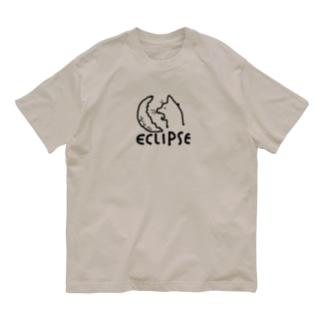月を食らう猫 Organic Cotton T-shirts