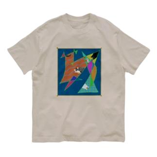 猫かわいい Organic Cotton T-shirts