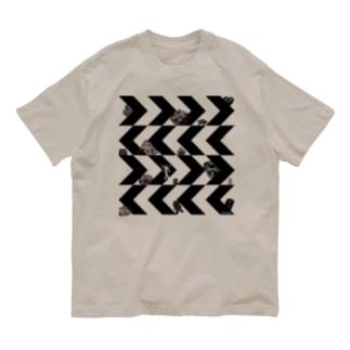 ギザギザドニワ Organic Cotton T-shirts