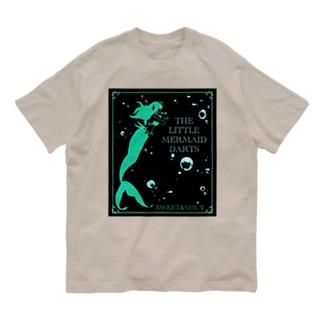 アクアダーツ -人魚姫- Organic Cotton T-shirts