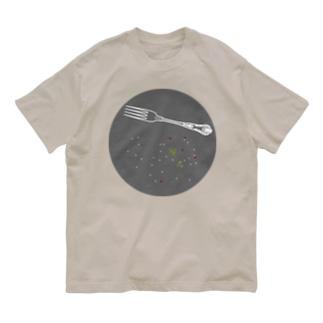 六三八デザイン室のdinner-sakana Organic Cotton T-shirts