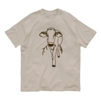 育成の牛 Organic Cotton T-shirts